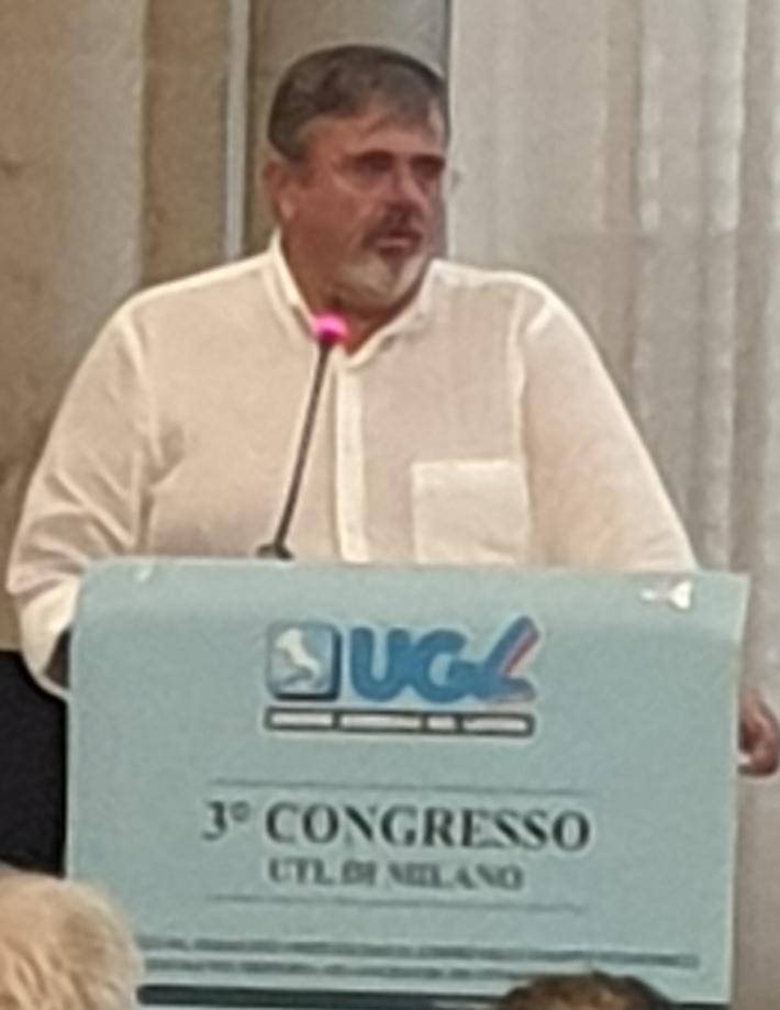 CAPONE PAOLO AL CONGRESSO UTL DI MILANO