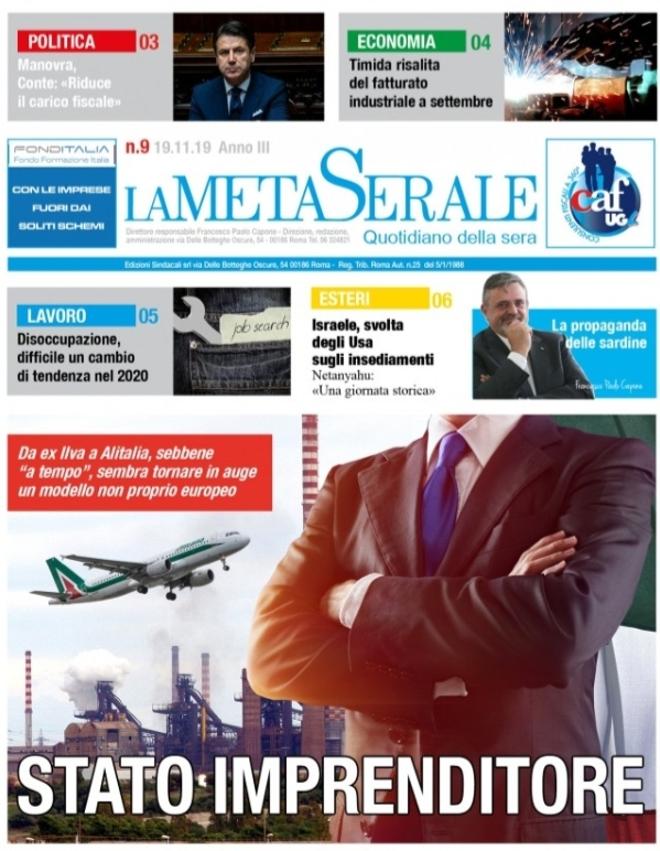 La Meta Serale 9 Anno III – Quotidiano dell'Ugl