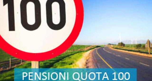PENSIONI QUOTA 100 SENZA PALETTI E QUOTA 41 PER TUTTI.