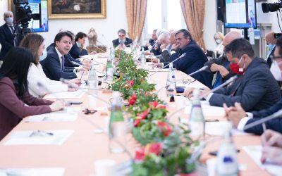 Intervento e documento di Francesco Paolo CAPONE – Segretario Generale Ugl agli Stati Generali in villa Pamphily a Roma