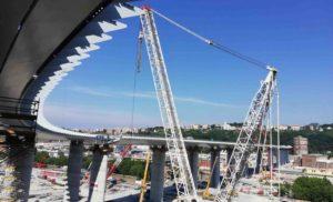 Ponte di Genova, sigillo mantovano. Tra i protagonisti della ricostruzione anche un'azienda di Castel d'Ario
