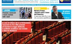 La Meta Serale 199 Anno III – Quotidiano dell'Ugl