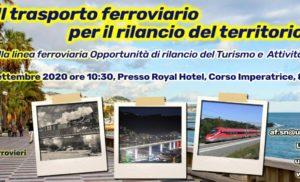 """""""Il trasporto ferroviario per il rilancio del territorio"""""""