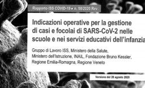 Indicazioni Inail operative Sars-Covid2 nelle Scuole ed indicazioni Trasporti Pubblici Gruppo di Lavoro