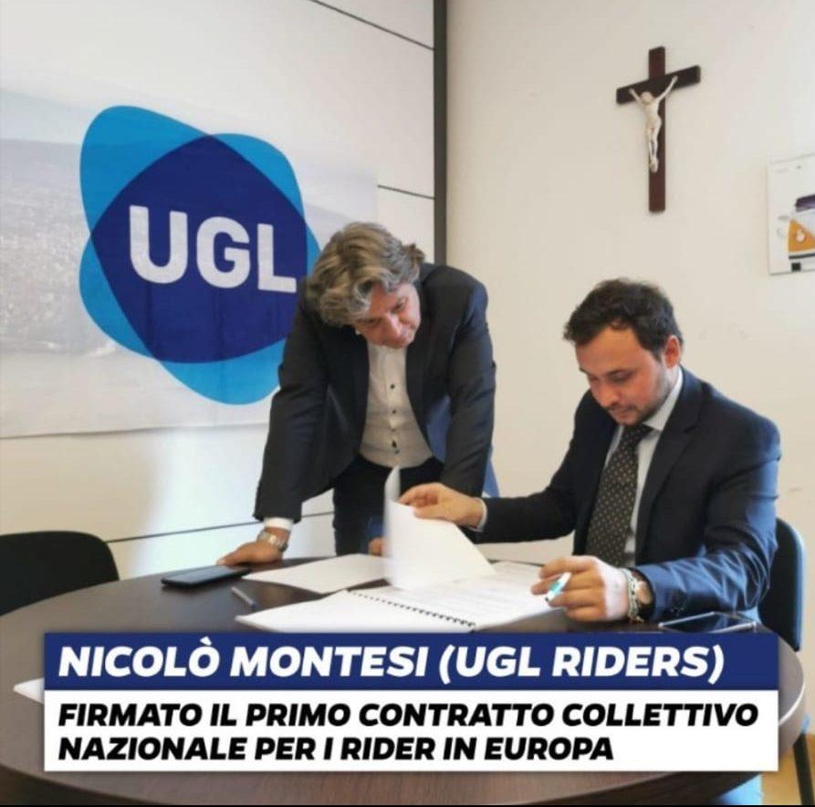 """Tutto e Tutti contro i Lavoratori ed Ugl per avere Accordato e Regolarizzato un comparto Rider , """"che nessuno voleva"""",…Perché ? – UGL – l'Altro Sindacato."""