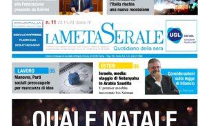 QUALE NATALE – Confindustria: l'Italia rischia una nuova recessione – Covid-19 Crescono contagi sul Lavoro – Manovra: sindacati preoccupati per mancanza di idee – Capone sulla Legge di Bilancio
