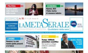 FIDUCIA IN BLACK – BCE L'Italia Rischia di rimanere indietro – Federmeccanica prova a rilanciare – Covid-19 a Natale tra Santi e Fanti/CAPONE