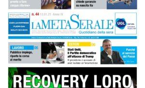 RECOVERY LORO – Ex Ilva: piano da approfondire – Capone/UGL: Purché al servizio del paese