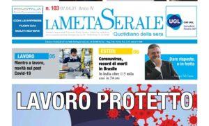 LAVORO PROTETTO – Intesa sul Protocollo in Aziende – Colpite dalla crisi le piccole aziende – Capone Ugl: Dare riaposte e in fretta