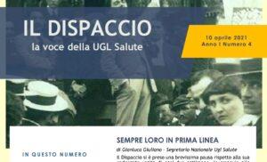 IL DISPACCIO – La Voce della Ugl Sanità – Giuliano, Segretario Nazionale: Sempre loro in prima linea