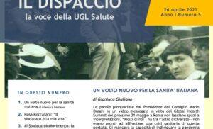IL VOLTO NUOVO PER LA SANITÀ di Gianluca Giuliano -Ugl Salute