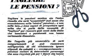 TAGLIARE LE PENSIONI – Il ruolo delle Donne in pensione nella società di oggi – La cumulabilità fra redditi da lavoro e pensione –