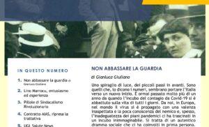 SANITÀ, Giuliano Ugl: Non abbassare la guardia – Contratto AIAS, ripresa la trattativa – Ugl Sanità News