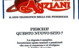 UGL Pianeta Anziani – Nuovo sito Nazionale: uglpensionati.it –