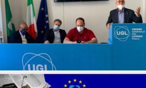 UGL News Europa – Primo numero per aggiornare tutti dei lavori direttamente dei lavori svolti in EU