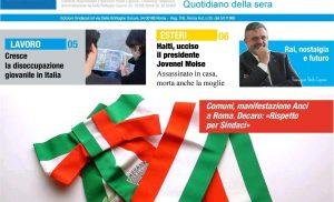 Cresce la Disoccupazione giovanile in Italia – La Commissione UE: Nel 2020 previsto + 5 % per il PIL – Ammortizzatori, strada stretta – Capone Ugl, RAI nostalgia e Futuro