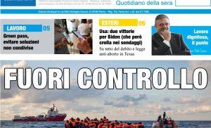 Green Pass, evitare soluzioni non condivise – Pesca, l'impegno del governo – Lavoro dignitoso, il punto